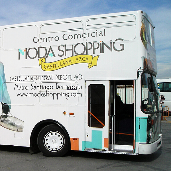 Autobús Moda Shopping