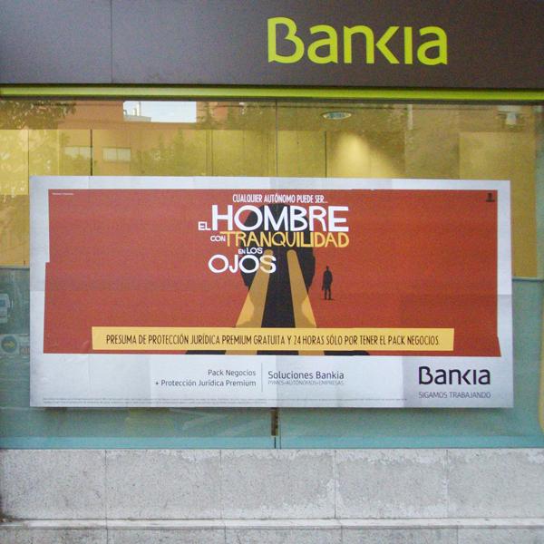Escaparate Bankia